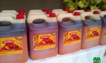 Vente de l'huile de palme